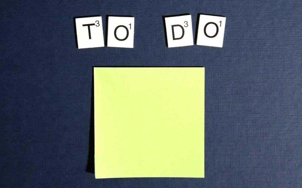 Postit Scrabble To Do Todo 3299